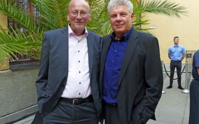 Kulturreferent Dr. Hans-Georg Küppers und Oberbürgermeister Dieter Reiter