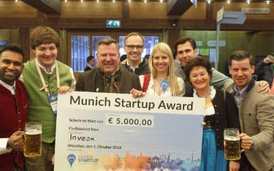 Verleihung des Munich Startup Award