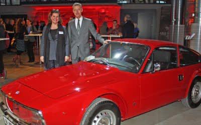 Geradline Knudson, Leitung München Tourismus und Kurt Kapp, Kommissarischer Leiter des Referats für Arbeit und Wirtschaft in der künftigen Motorworld