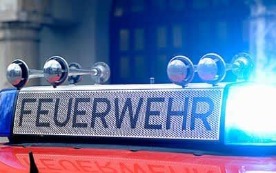 Blaulicht, Feuerwehr, München
