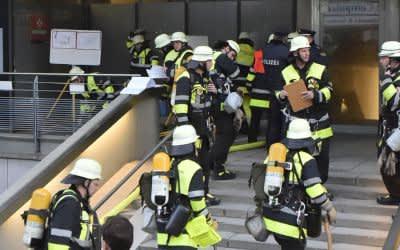 Feuerwehreinsatz in der Schwanthalerstraße