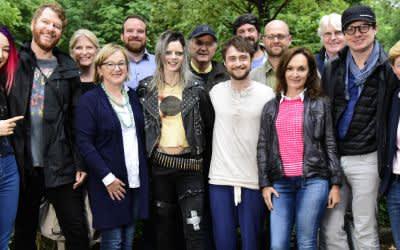 Dreharbeiten der Actionkomödie Guns Akimbo mit Daniel Radcliffe
