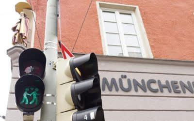 München, Toleranz, Ampel, Grün, Fraunhofer, Müllerstraße