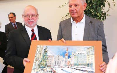 Verabschiedung von Stadtkämmerer Dr. Ernst Wolowicz
