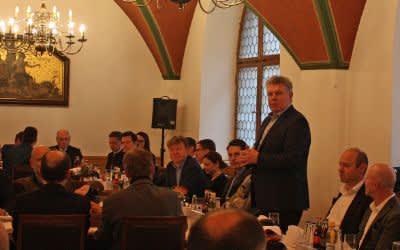 CityPartner-Weißwurstfrühstück mit Oberbürgermeister Dieter Reiter
