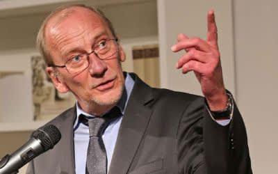 Kulturreferent Dr. Georg-Hans Küppers bei der Eröffnung der Monacensia