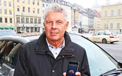 OB Reiter stellt HandyParken App vor