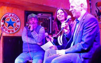 Paul Daly, Moderatorin Natascha Zillner, OB Dieter Reiter