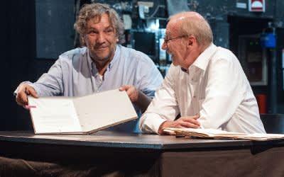 Christian Stückl und Hans-Georg Küppers