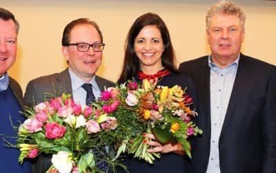 Gratulation an Kristina Frank zur Wahl zur Kommunalreferentin