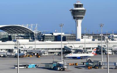 Der Münchner Flughafen