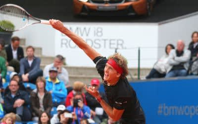 Alexander Zverev bei den BMW Open.