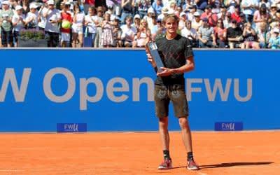 BMW Open: Zverev gewinnt ATP-Turnier gegen Kohlschreiber