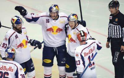 Red Bulls gewinnen DEL-Auftakt mit 4:2 in Berlin