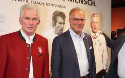 """Eröffnung der Sonderausstellung """"Jupp Heynckes - Spieler, Trainer, Mensch"""""""
