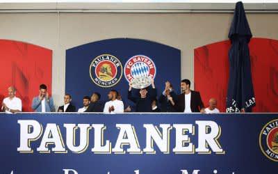 FCB-Meisterfeier am Nockherberg