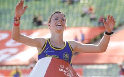 Susanne Schreindl gewinnt den München Marathon