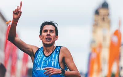 Luis Carlos Rivero siegt beim Münchner Stadtlauf