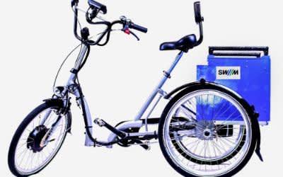 Der E-Trike Prototyp von TUM, SWM und MVG