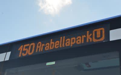 Die erweiterte Buslinie 150
