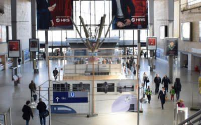 Alte Schalterhalle am Hauptbahnhof München