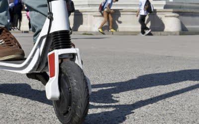 E-Scooter auf öffentlichen Straßen