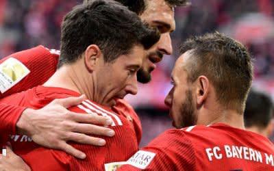 Der FC Bayern München ist neuer Tabellenführer der Fußball-Bundesliga.