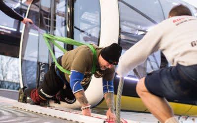 Dreh das Riesenrad: Österreicher stellt Weltrekord auf
