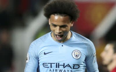 Nationalspieler Leroy Sané von Manchester City