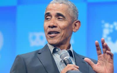Barack Obama bei Bits & Pretzels