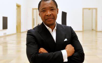 Der frühere Direktor des Hauses der Kunst Okwui Enwezor