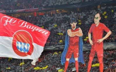 FC Bayern Fan-Choreographie