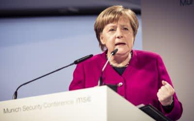Tag 2 der Sicherheitskonferenz: Bundeskanzlerin Angela Merkel spricht
