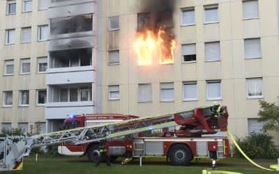 Brand im Harthof