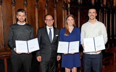 Die Sieger des Hochschulpreises der LHM 2019