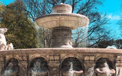 Der Wittelsbacher Brunnen in München