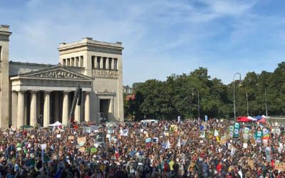 Friday-for-future-Demo am Königsplatz