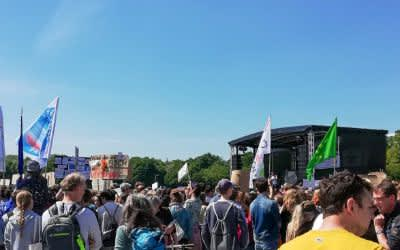 Fridays for Future Demo auf der Theresienwiese