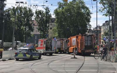 Verkehrsunfall am Sendlinger Tor