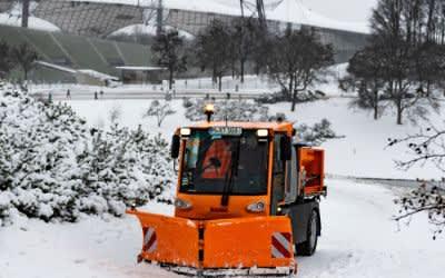 Winterdienst im Olympiapark