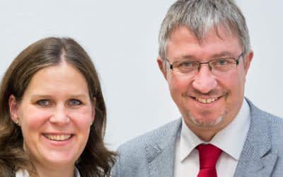 Verena Dietl und Christian Müller