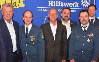 Jahreresmpfang der drei Münchener THW-Ortsverbände
