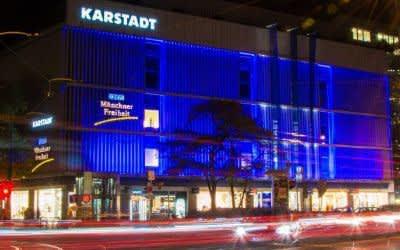 Die Kinos Münchner Freiheit im Karstadt-Gebäude in Schwabing