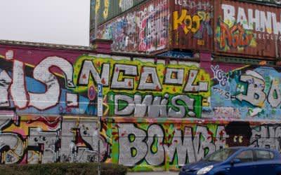 Streetart an der Tumblingerstraße