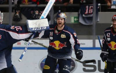 Playoff-Halbfinale Red Bull Muenchen vs Augsburger Panther