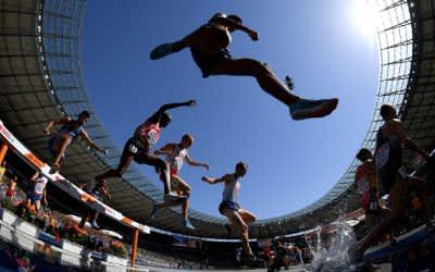 Leichtathletik-Wettbewerb bei den European Championships 2018