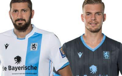 Die neuen Trikots des TSV 1860 München.