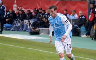 Nico Karger vom TSV 1860 in Aktion