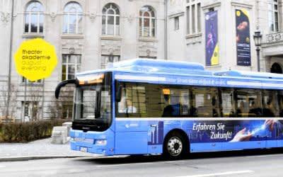 E-Bus der Linie 100