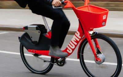 Ein E-Bike von Jump Bikes